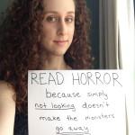 Annie Neugebauer HWA horror selfie