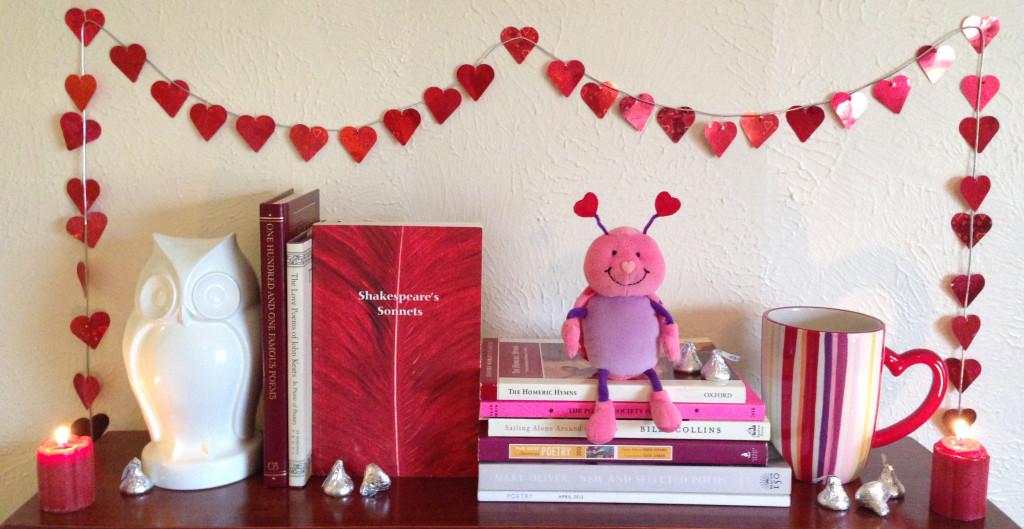 Annie's Valentine Bookshelf