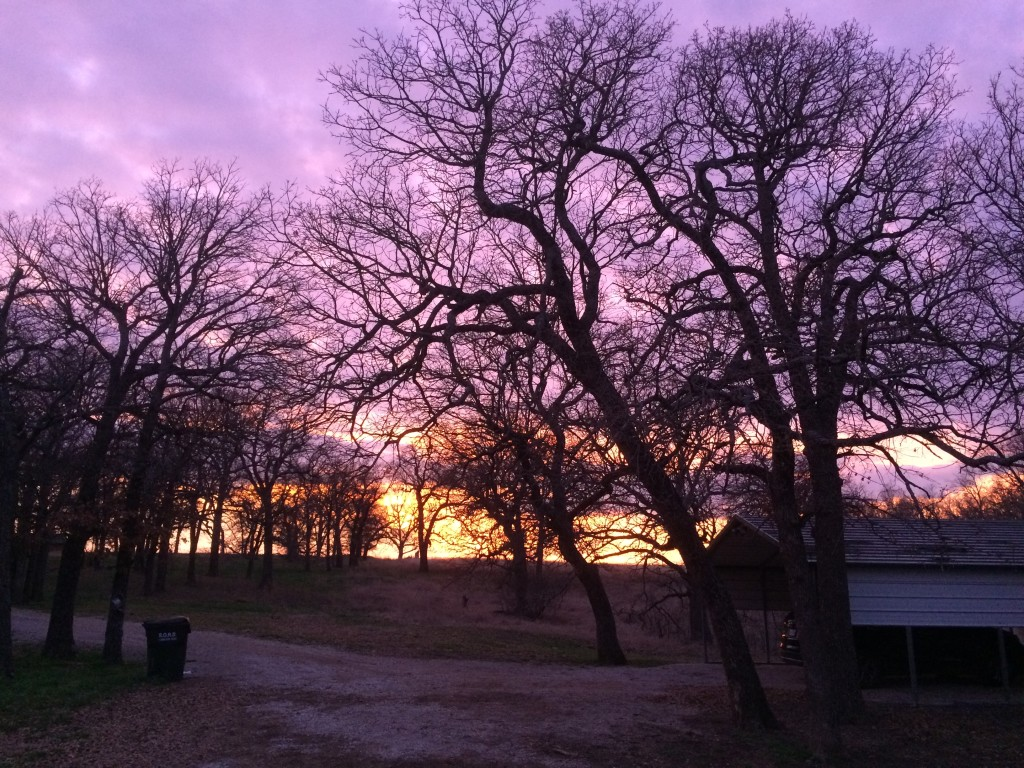 The final sunset.